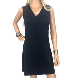 Mark Navy Blue Shift  Dress M